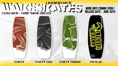 2004 Liquid Force Wakeskates
